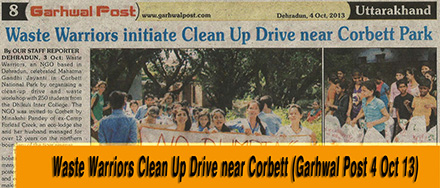 Corbett Clean Up