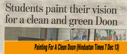 Painting for clean doon