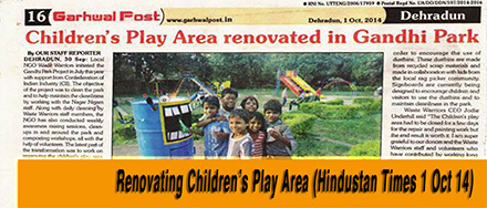 renovating Childrens park