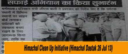 himachal Cleanup