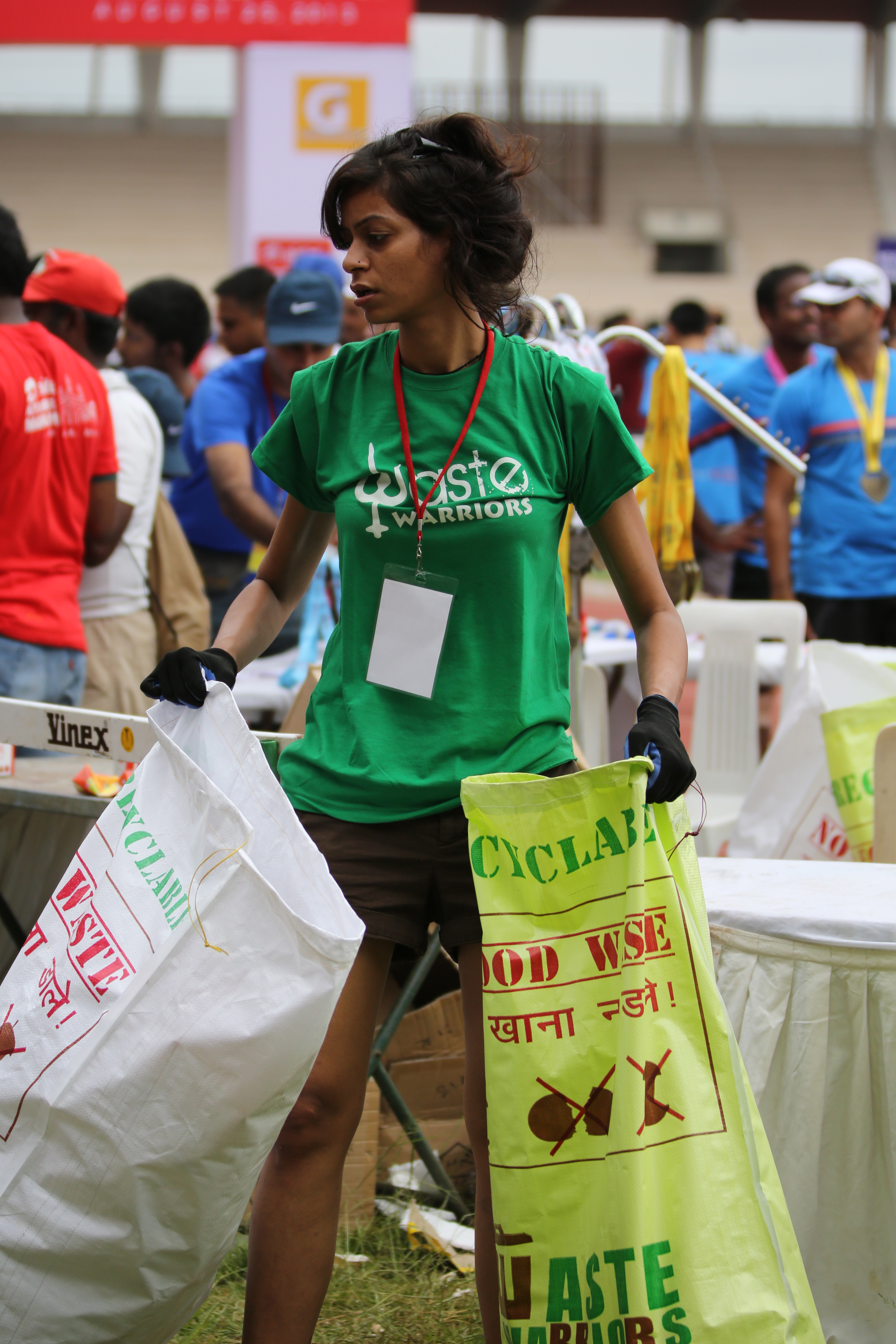 Tashi at the Hyderabad Marathon