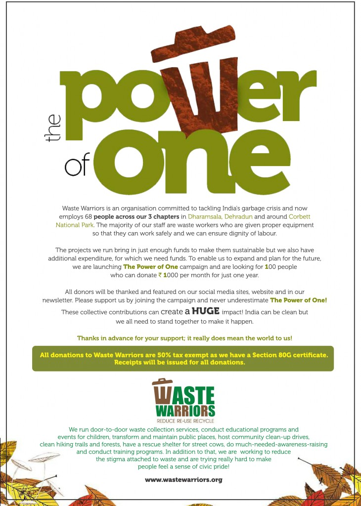 Power of One Campaign.cdr