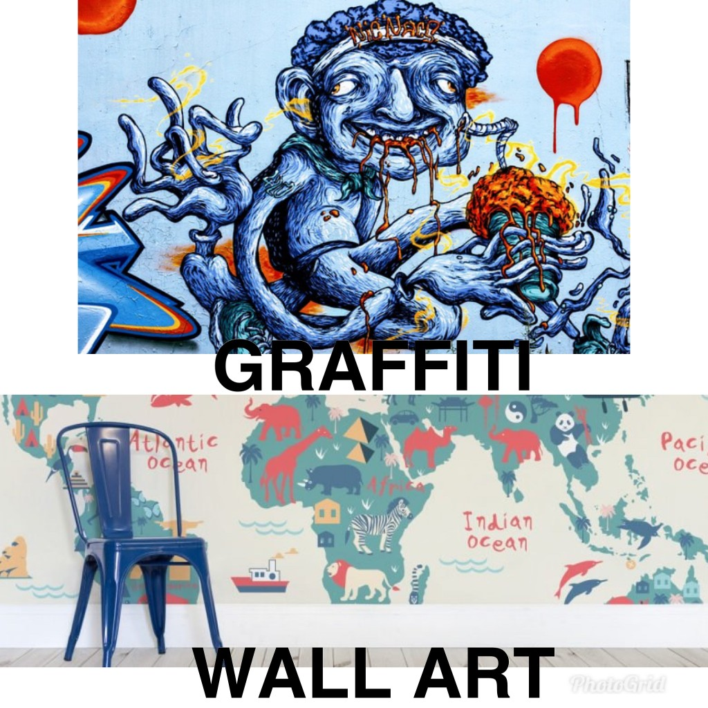 GRAFFITI V WALL ART1